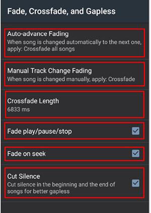 Crossfade in Poweramp - Worship Pads Tutorial